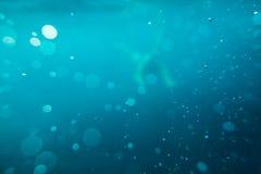 abstrakt undervattens- bakgrundshav Royaltyfri Bild