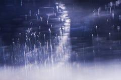 Abstrakt undervattens- sammansättning Royaltyfri Foto