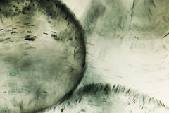 Abstrakt undervattens- sammansättning Arkivbilder