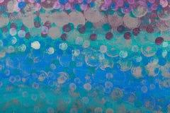 Abstrakt undervattens- seascape Royaltyfri Foto