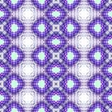 Abstrakt upprepande purpurfärgad sömlös modell Royaltyfria Foton