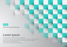 Abstrakt utrymme för kopia för modell för fyrkant för bakgrundsgräsplanturkos royaltyfri illustrationer