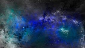 Abstrakt utrymmeplats av nebulosan Fotografering för Bildbyråer