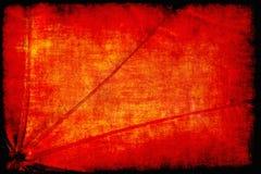 Abstrakt utsmyckad röd grungebakgrund Royaltyfria Bilder