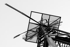 Abstrakt väderkvarnspring Arkivbild