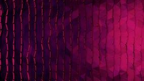 Abstrakt vägg av den organiska vägen för nivåinflyttning Rörelsen kretsas perfekt Abstrakt konstruktion som göras med kuber Arkivfoto