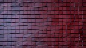 Abstrakt vägg av den organiska vägen för nivåinflyttning Rörelsen kretsas perfekt Abstrakt konstruktion som göras med kuber Fotografering för Bildbyråer