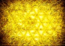 Abstrakt vägg för cocept för design för triangelbakgrundsfärg Royaltyfri Bild