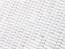 Abstrakt vägg för vit Arkivbilder