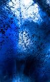 Abstrakt värld för djupt hav för foto undervattens- Arkivbild
