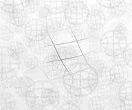 Abstrakt värld och linjer Royaltyfri Bild