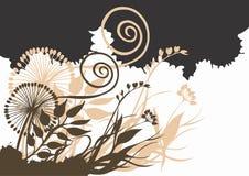abstrakt växter Royaltyfri Bild