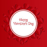 abstrakt valentin för bakgrundsdag s Royaltyfri Fotografi