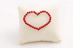 abstrakt valentin för daghjärta s Royaltyfri Fotografi
