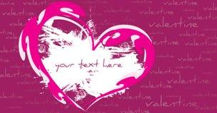 abstrakt valentin för kortdaghälsning s stock illustrationer