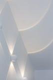Abstrakt varmt ljus på väggen Royaltyfri Fotografi