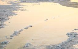 abstrakt vatten Arkivfoto