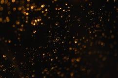 Abstrakt vatten tappar closeupmakro Royaltyfri Fotografi