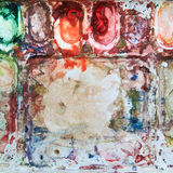 abstrakt vattenfärg Royaltyfri Foto