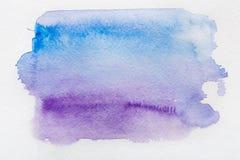 Abstrakt vattenfärg målad texturbakgrund Arkivfoton