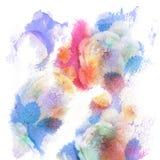 Abstrakt vattenfärg texturerad bakgrund Trätexturerat, sjaskigt Arkivbild