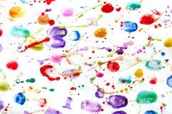 Abstrakt vattenfärgbakgrund Royaltyfri Foto