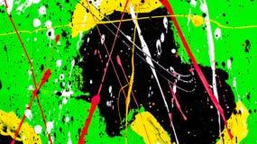 Abstrakt vattenfärgfärgstänkbakgrund Royaltyfria Foton