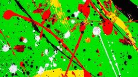 Abstrakt vattenfärgfärgstänkbakgrund Royaltyfri Bild