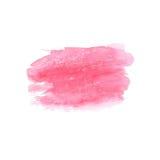 Abstrakt vattenfärgfläck Vattenfärgdesignbeståndsdel vattenfärg Arkivfoton