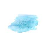 Abstrakt vattenfärgfläck Vattenfärgdesignbeståndsdel vattenfärg Arkivbilder