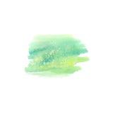 Abstrakt vattenfärgfläck Vattenfärgdesignbeståndsdel vattenfärg Royaltyfri Foto