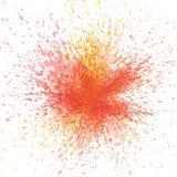 Abstrakt vattenf?rgfyrverkeribakgrund f?r partiet, ber?m f?r nytt ?r, affisch, h?lsningkort stock illustrationer