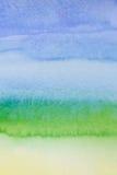 Abstrakt vattenfärgmålningbakgrund Arkivbilder