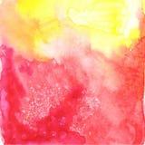Abstrakt vattenfärgvektorbakgrund Arkivbilder