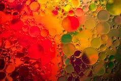Abstrakt vattenkonst Arkivbild