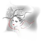 abstrakt vektor Royaltyfria Bilder