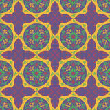 Abstrakt vektor för blomma för modelltapetillustration Royaltyfria Foton