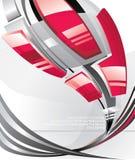 abstrakt vektor för illustration 3d stock illustrationer