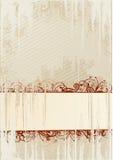 abstrakt vektor för ramgrungeillustration stock illustrationer