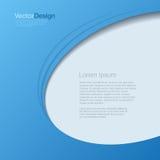 Abstrakt vektor för bakgrund. Templa för affärsdesign Arkivfoto