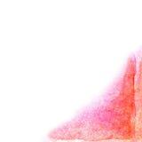 Abstrakt vektor hand-dragen vattenfärgbakgrund Royaltyfria Bilder