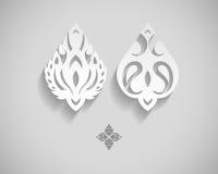 Abstrakt vektor Logo Design Template Royaltyfri Fotografi