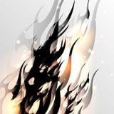 Abstrakt vektorbakgrund. Royaltyfri Fotografi
