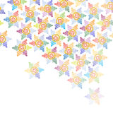Abstrakt vektorbakgrund Arkivbild