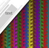 Abstrakt vektorbakgrund av krokar Fotografering för Bildbyråer