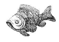 Abstrakt vektorfisk Arkivbild