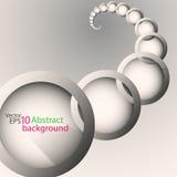 Abstrakt vektorspiralbakgrund Arkivfoton
