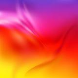 Abstrakt vektortextur, rött silke Arkivfoto