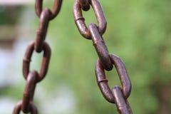 Abstrakt vertikal chain styrka för bakgrund Royaltyfria Bilder
