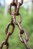 Abstrakt vertikal chain styrka för bakgrund Arkivfoto
